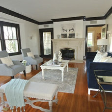 Eclectic Family Room by Ultimate Staging & Decor, LLC