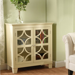 ... cabinet. This eye-catching cabinet features two acrylic doors with
