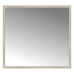 "Posters 2 Prints, LLC - 64"" x 59"" Libretto Antique Silver Custom Framed Mirror - 64"" x 59"" Custom Framed Mirror made by Posters 2 Prints. Standard glass with unrivaled selection of crafted mirror frames.  Protected with category II safety backing to keep glass fragments together should the mirror be accidentally broken.  Safe arrival guaranteed.  Made in the United States of America"