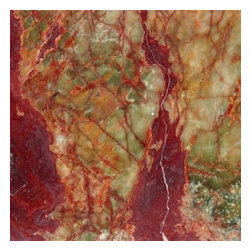 "Multi Red Onyx Solid Polished Floor Solid Tiles 12"" x 12""- Lot of 300 TIles - Multi Red Polished Finish 18"" x 18"" Solid Floor Tile features a Green color blended with light & dark green to accent many home interiors. This beautiful onyx tile features a smooth, high-sheen finish and a random variation in tone to help add style to your decor along with your bathroom vanity. Designed for floor, wall and countertop use, this onyx tile is marginally skid resistant to suit your needs. Simply gorgeous tile."