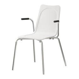 Lisa Norinder - HUGO Armchair - Armchair, white
