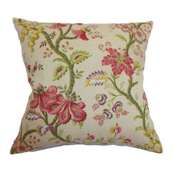 Pillow Collection - The Pillow Collection Quesnel Floral Pillow - P18-D-20984-ANTIQUE-L55R45 - Shop for Pillows from Hayneedle.com! A beautiful bouquet of fresh flowers awaits every day of the year with The Pillow Collection Quesnel Floral Pillow. Crafted from a blend of 55% linen and 45% rayon this traditional square pillow features a plush 95/5 feather/down insert for the ultimate in softness. The classic floral print is available in a variety of color options so you can customize the look perfectly.About The Pillow CollectionIdentical twin brothers Adam and Kyle started The Pillow Collection with a simple objective. They wanted to create an extensive selection of beautiful and affordable throw pillows. Their father is a renowned interior designer and they developed a deep appreciation of style from him. They hand select all fabrics to find the perfect cottons linens damasks and silks in a variety of colors patterns and designs. Standard features include hidden full-length zippers and luxurious high polyester fiber or down blended inserts. At The Pillow Collection they know that a throw pillow makes a room.