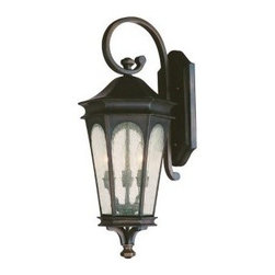 Capital Lighting - Capital Lighting 9382 3 Light Outdoor Wall Lantern from the Inman Park Collectio - Capital Lighting 9382 3 Light Outdoor Wall Lantern from the Inman Park CollectionFrom the Inman Park Collection, this traditionally styled three light outdoor wall lantern with seeded glass provides an ample amount of light and timeless style.Features: