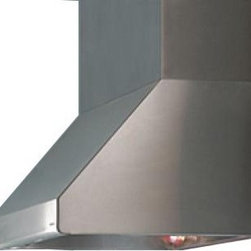 "Vent-A-Hood 48"" Nouveau Pro Hood (900 CFM) - This Nouveau Pro Hood from Vent-A-Hood features a modern canopy with a rounded front lip.  It comes from Vent-A-Hood, the brand that specializes in high-quality, quiet ventilation, and is a great addition to a kitchen."