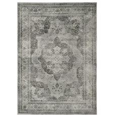 Originals And Limited Editions Safavieh Vintage Grey Viscose Rug (8' x 11'2)