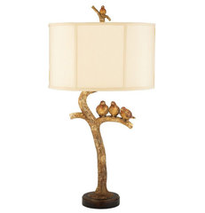 eclectic table lamps by Rugs USA
