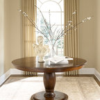 Round Pedestal Table -