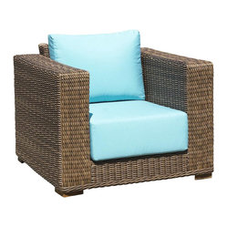 South Beach Patio Wicker Chair
