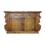 Manchester Sideboard, Torched Natural Brown - Manchester Sideboard, Torched Natural Brown
