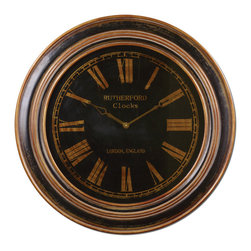 "UTTERMOST - Uttermost Buckley 32"" Large Wall Clock - This clock features:"