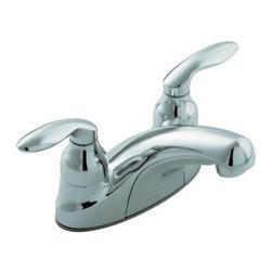KOHLER - KOHLER K-15240-4-CP Coralais Centerset Lavatory Faucet with Lift-Rod Holes - KOHLER K-15240-4-CP Coralais Centerset Lavatory Faucet with Lift-Rod Hole and Lever Handles in Chrome