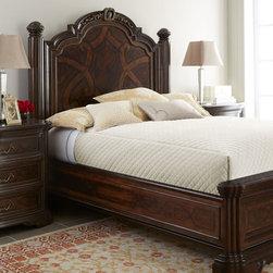 Colette Panel Bed Bedroom Furniture -