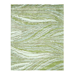 Safavieh - Contemporary Thom Filicia 4'x6' Rectangle Spring Green Area Rug - The Thom Filicia area rug Collection offers an affordable assortment of Contemporary stylings. Thom Filicia features a blend of natural Spring Green color. Hand Tufted of Wool the Thom Filicia Collection is an intriguing compliment to any decor.