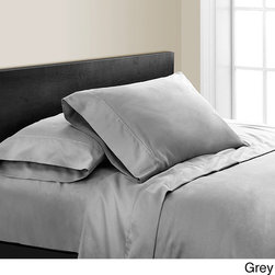 None - Noelia 600 Thread Count 4-piece Sheet Set - This indulgently soft 600-thread count sheet set is exquisitely designed and expertly tailored to provide a good sleep. The set comes in various sophisticated colors that will coordinate well with a variety of bedding collections.