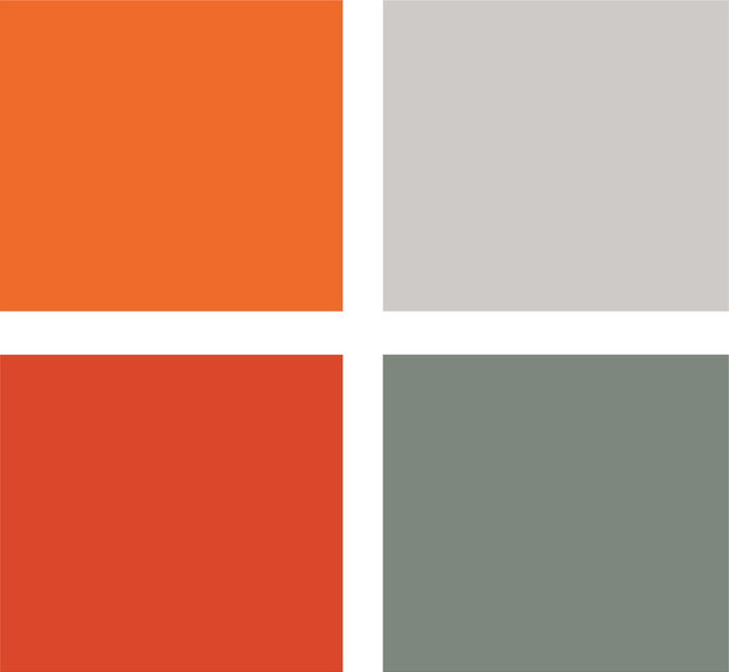 Ring In A Spicy Hot Palette Of Colors That Go With Orange: 7 Spicy Hot Color Palettes To Fire Up A Living Room
