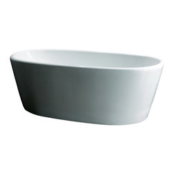 "AKDY - AKDY AK-ZF248 Europe Style White Acrylic Free Standing Bathtub, 67"" - AKDY free standing acrylic bathtubs come in many styles, shapes, and designs. The acrylic material used for tubs is very durable, light weight, and can be molded into a variety of shapes and styles which explain the large selection available in this product category. Acrylic free standing tubs are a cost efficient way to give your bathroom a unique beautiful touch. A bathtub is no longer just a piece of cast iron metal thrown into a bathroom by a builder."