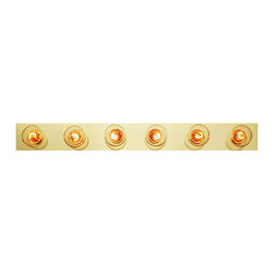 """Trans Globe Lighting - Trans Globe Lighting 3006 Six Light 36"""" Wide Bath Bar - Specifications:"""