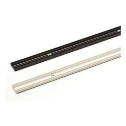 Kichler Lighting - Kichler Lighting - 10283BK - Linear - Track Rail for Cable Light - The innovative leader in decorative light fixtures, lamps, and home accessories.
