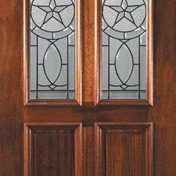 """Slab Entry Single Door 80 Wood Mahogany Travis 2 Panel Twin Lite - SKU#L11685BrandGlassCraftDoor TypeExteriorManufacturer CollectionTwin Lite Entry DoorsDoor ModelTravisDoor MaterialWoodWoodgrainMahoganyVeneerPrice975Door Size Options36"""" x 80"""" (3'-0"""" x 6'-8"""")  $0Core TypeDoor StyleDoor Lite StyleTwin LiteDoor Panel Style2 PanelHome Style MatchingDoor ConstructionLegacyPrehanging OptionsSlabPrehung ConfigurationSingle DoorDoor Thickness (Inches)1.75Glass Thickness (Inches)Glass TypeTriple GlazedGlass CamingBlackGlass FeaturesTempered , BeveledGlass StyleGlass TextureGlass ObscurityDoor FeaturesDoor ApprovalsWind-load Rated , FSC , TCEQ , AMD , NFRC-IG , IRC , NFRC-Safety GlassDoor FinishesDoor AccessoriesWeight (lbs)248Crating Size25"""" (w)x 108"""" (l)x 52"""" (h)Lead TimeSlab Doors: 7 daysPrehung:14 daysPrefinished, PreHung:21 daysWarrantyOne (1) year limited warranty for all unfinished wood doorsOne (1) year limited warranty for all factory?finished wood doors"""