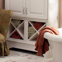 Wine Storage Cabinet - Keep your bottles and wine accessories on display and in order in a Wine Storage Cabinet. While it's perfect for wine, a Wine Storage Cabinet can also serve as an intriguing towel holder.