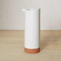 Dolomite Watering Can - I appreciate a watering vessel stunning enough to double as a flower vase.