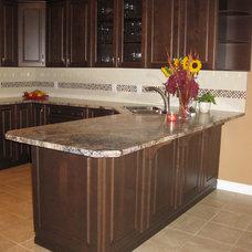 Modern Kitchen Cabinets by Michelle Yaworski – Gem Cabinets Ltd