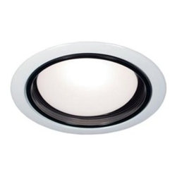 BAZZ - BAZZ 400 Series 5 in. Incandescent Recessed White/Black Baffle Light Fixture Kit - Shop for Lighting & Fans at The Home Depot. This elegant white fixture with a black baffle is sure to showcase any location. Rated for both interior and exterior use. Ideal for exterior locations placed in the soffit.