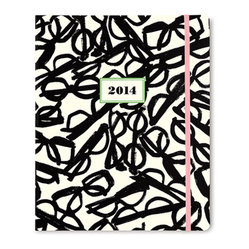 Kate Spade Literary Glasses 17 Month Agenda