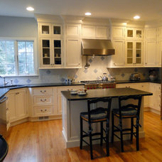 Traditional Kitchen Cabinets by Attleboro Kitchen and Bath