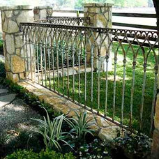 Houston Ornamental Iron Fence