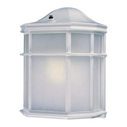 """The Great Outdoors - The Great Outdoors GO 9920-PL 1 Light 9.25"""" Height Outdoor Wall Sconce - Single Light 9.25"""" Height Outdoor Wall Sconce from the CollectionFeatures:"""