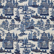 Asian Fabric by DecoratorsBest