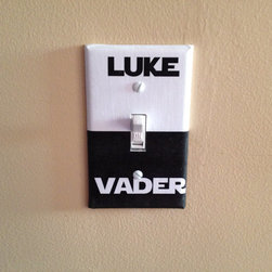 Star Wars Luke/Vader Switch Cover by Keep Calm & Turn it On - You have to choose a side. You just have to.