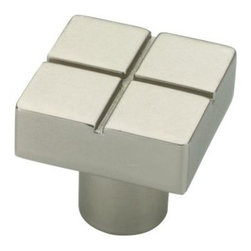 Liberty Hardware - Liberty Hardware P03134-MN-C Urban Metals Cab HW-Liberty 0.79 Inch Square Knob - Create simple sophistication by adding the Ultra Mod Shape Knob to cabinetry while enhancing Modern style decor. Multiple finishes available. Installs easily with included hardware and is a noticeable change for any cabinetry. Width - 0.79 Inch, Height - 0.79 Inch, Projection - 0.75 Inch, Finish - Matte Nickel, Weight - 0.07 Lbs.