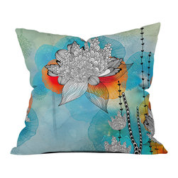 Iveta Abolina Coral Outdoor Throw Pillow - Do you hear that noise? it's your outdoor area begging for a facelift and what better way to turn up the chic than with our outdoor throw pillow collection? Made from water and mildew proof woven polyester, our indoor/outdoor throw pillow is the perfect way to add some vibrance and character to your boring outdoor furniture while giving the rain a run for its money.