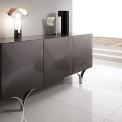 Spar - Modern Sideboard SP-Exential X62 - Elegant sideboard available in different finishes. Made in Italy by Gruppo Spar.