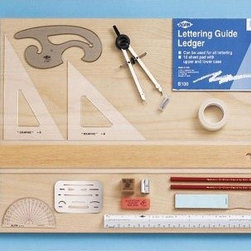 Alvin Collegiate Drawing Kit - What We Like About This Drawing And Drafting Kit Full of fun stuff to jog your imagination and get it down on paper accurately and professionally. Includes everything the student needs on all levels from junior high to college. Also great for graphic designers and engineers.