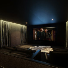 Contemporary Home Theater by Artcoustic Loudspeakers