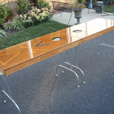 Modern Bar Tables by Beer Pong Customs