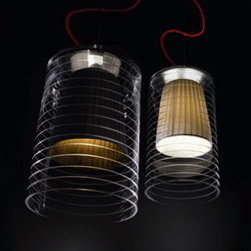 Rebecca C Pendant Lamp By Modiss Lighting - Rebecca 1C10 Rebecca 1C20 by Modiss are a series of pendant lamps which are also available as table fixtures.