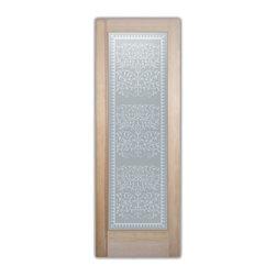 , as bathroom door glass insert only or pre-installed in a door frame ...