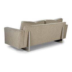 Cool Clip Sofa (back view) from Thayer Coggin - Thayer Coggin Inc.