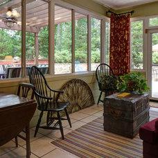 Modern Porch by Kade Homes & Renovations