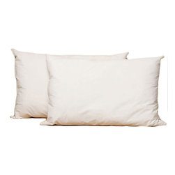 Splendorest - Splendorest Angel Soft Down Alternative Side Sleeper King-size Pillows (Set of 2 - Get an excellent nights sleep with this set of two down king-size pillows. Each pillow is filled with a down alternative that gives it the resilient benefits of fiber. These pillows are soft yet firm enough to match any sleeping position.