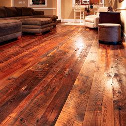 Reclaimed Barn Wood Flooring/Old Dirty Top -