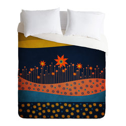 DENY Designs - Viviana Gonzalez Spring Energy Duvet Cover - Turn your basic, boring down comforter into the super stylish focal point of your bedroom. Our Luxe Duvet is made from a heavy-weight luxurious woven polyester with a 50% cotton/50% polyester cream bottom. It also includes a hidden zipper with interior corner ties to secure your comforter. it's comfy, fade-resistant, and custom printed for each and every customer.
