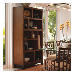 Tommy Bahama Home - Tommy Bahama Home Ocean Club Tradewinds Bookcase/Etagere - Tommy Bahama Home - Bookcases - 010536991