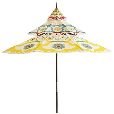 Eclectic Outdoor Umbrellas by Pier 1 Imports