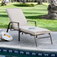 Modern Outdoor Chaise Lounges by Hayneedle