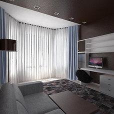 Contemporary Rendering by Aleksandra Kucherenko interiors
